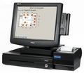 Pos система Forpost Ресторан Элегант 15 - черная (FPrint-22К, моноблок KS с гладким экраном)